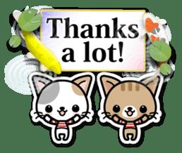 Japanese Style Cat Sticker ( English ) sticker #6669782