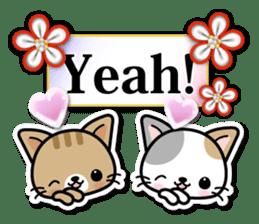 Japanese Style Cat Sticker ( English ) sticker #6669783