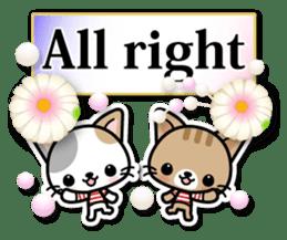 Japanese Style Cat Sticker ( English ) sticker #6669785