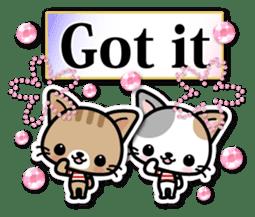 Japanese Style Cat Sticker ( English ) sticker #6669787