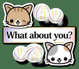Japanese Style Cat Sticker ( English ) sticker #6669793
