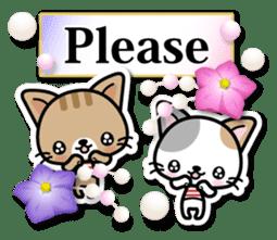 Japanese Style Cat Sticker ( English ) sticker #6669794
