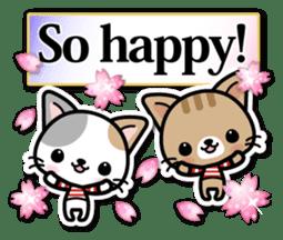 Japanese Style Cat Sticker ( English ) sticker #6669795