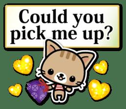 Japanese Style Cat Sticker ( English ) sticker #6669796