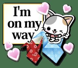 Japanese Style Cat Sticker ( English ) sticker #6669797