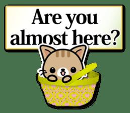 Japanese Style Cat Sticker ( English ) sticker #6669802
