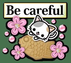 Japanese Style Cat Sticker ( English ) sticker #6669803