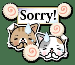 Japanese Style Cat Sticker ( English ) sticker #6669804