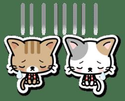 Japanese Style Cat Sticker ( English ) sticker #6669805