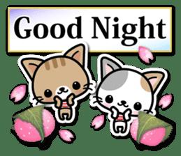 Japanese Style Cat Sticker ( English ) sticker #6669807