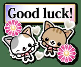 Japanese Style Cat Sticker ( English ) sticker #6669810