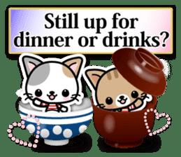 Japanese Style Cat Sticker ( English ) sticker #6669811