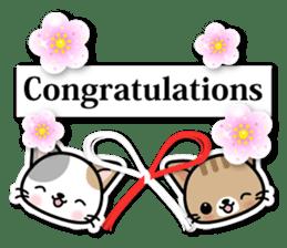 Japanese Style Cat Sticker ( English ) sticker #6669812