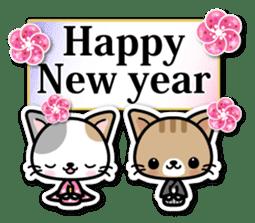 Japanese Style Cat Sticker ( English ) sticker #6669814