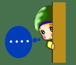 hijabista. 3. Indonesian+English sticker #6677016