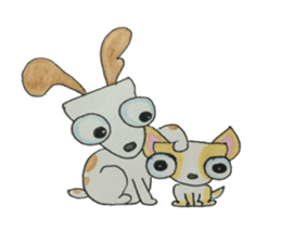 BFF (Dogs) sticker #6678145