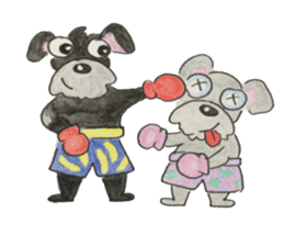 BFF (Dogs) sticker #6678148