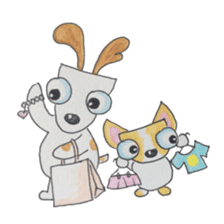 BFF (Dogs) sticker #6678171