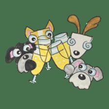 BFF (Dogs) sticker #6678182
