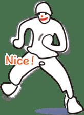 The hip-hop dance Sticker. sticker #6687809