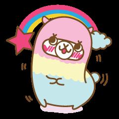 Rainbow The Alpaca