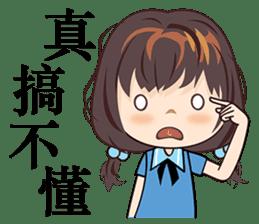 Little Blue Girl sticker #6699631