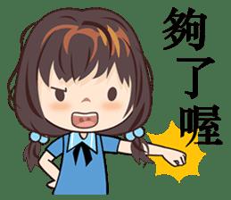 Little Blue Girl sticker #6699636