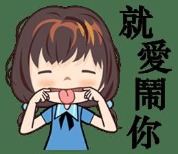 Little Blue Girl sticker #6699638
