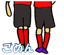 Soccer Player Sticker 2 sticker #6701777
