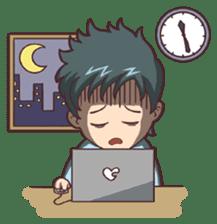 Cute Office Romance sticker #6702339