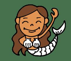 Beach girl & Friend of the sea sticker #6704734