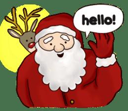 I am Santa Claus.(English) sticker #6704840