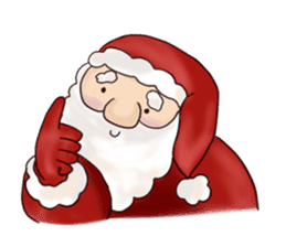 I am Santa Claus.(English) sticker #6704843