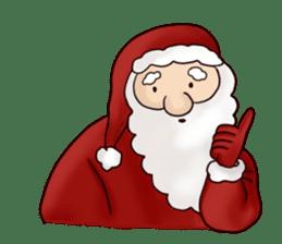 I am Santa Claus.(English) sticker #6704845