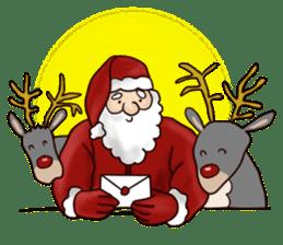 I am Santa Claus.(English) sticker #6704847