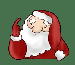 I am Santa Claus.(English) sticker #6704849