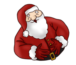 I am Santa Claus.(English) sticker #6704857