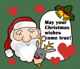 I am Santa Claus.(English) sticker #6704859
