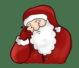 I am Santa Claus.(English) sticker #6704860