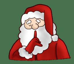 I am Santa Claus.(English) sticker #6704863