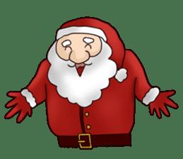 I am Santa Claus.(English) sticker #6704864