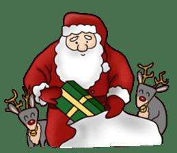 I am Santa Claus.(English) sticker #6704865