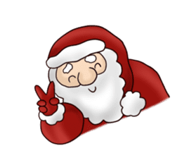 I am Santa Claus.(English) sticker #6704867