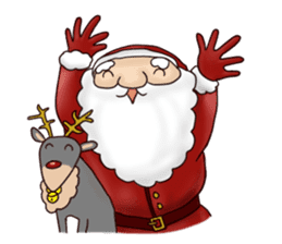 I am Santa Claus.(English) sticker #6704868