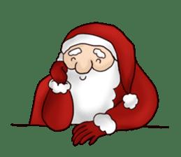 I am Santa Claus.(English) sticker #6704869