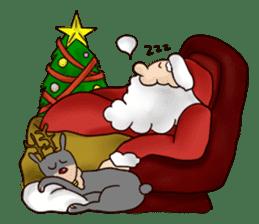 I am Santa Claus.(English) sticker #6704870