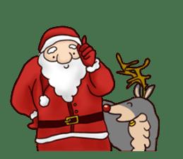 I am Santa Claus.(English) sticker #6704872