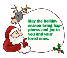 I am Santa Claus.(English) sticker #6704873