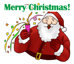 I am Santa Claus.(English) sticker #6704876