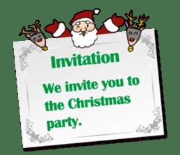 I am Santa Claus.(English) sticker #6704879